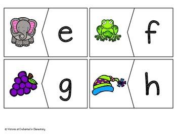 Beginning Sound Alphabet Puzzles