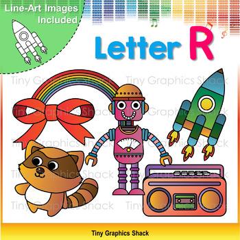 Beginning Sound Alphabet R Clip Art