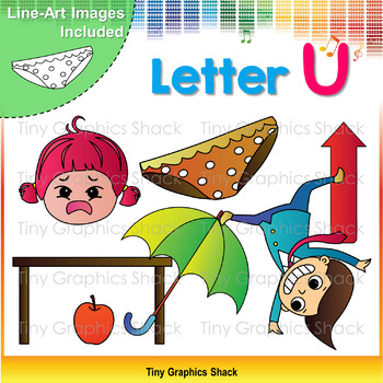 Beginning Sound Alphabet Short U Clip Art