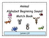 Beginning Sound Animal Match Adapted Book 2