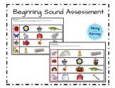 Beginning Sound Assessment