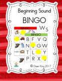 Beginning Sound Bingo