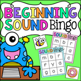 Beginning Sound Bingo - Literacy Center Activity