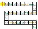 Beginning Sound Board Game Letters B,G,L,M,O