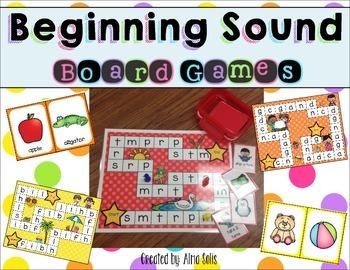 Beginning Sound Board Games