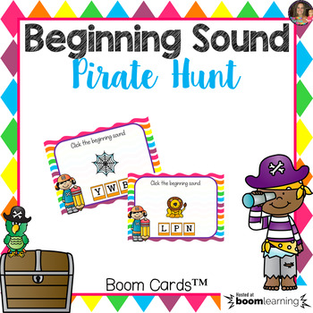 Beginning Sound Boom Cards