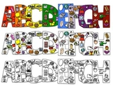 Beginning Sound Bubble Letters