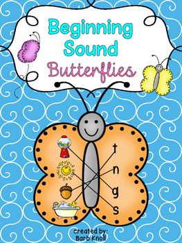Beginning Sound Butterflies