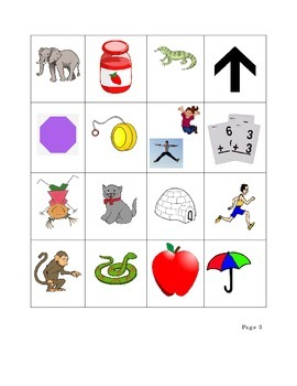 Beginning Sound Cards- Vowels and Consonants