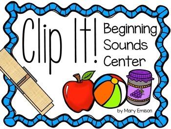 Beginning Sounds Center