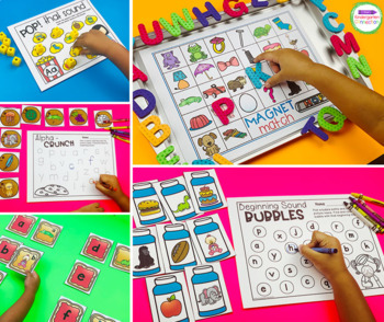 Beginning Sound Centers and Activities for Pre-K and Kindergarten