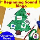 Beginning Sound Christmas Worksheets