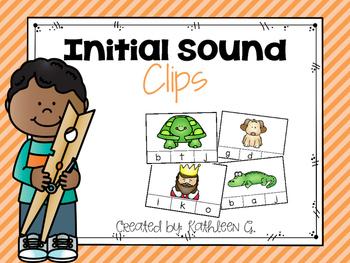 Initial Sound Clips A-Z