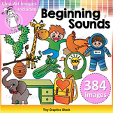 Beginning Sound Clip Art HUGE BUNDLE
