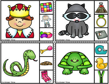 CVC Beginning Sound Clip Cards