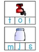 Beginning Sound Clip Cards for Phonics (Reading Center)