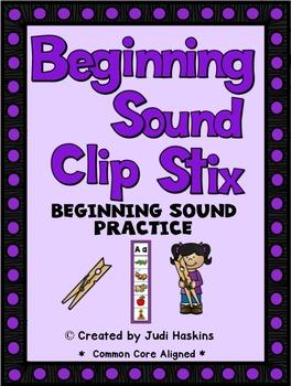 Beginning Sound - Clip Stix