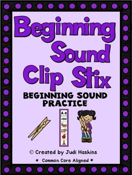 Beginning Sound - Clip Stix