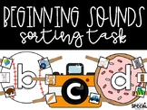 Beginning Sound Clothespin Tasks