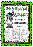 Beginning Sound Coloring Pages (Part 1)