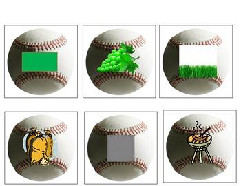 Beginning Sound Consonant Blends L-R Baseball Game