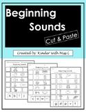 Beginning Sound Cut & Paste