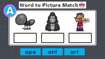 Beginning Sound Worksheets - Cut and Paste