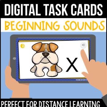 Beginning Sound Digital Task Cards