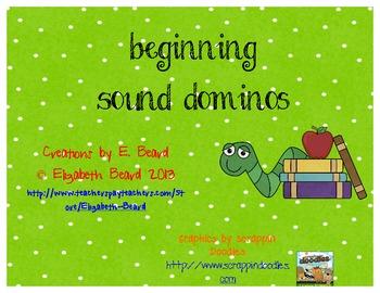 Beginning Sound Dominos Original