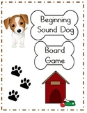 Beginning Sound File Folder Board Game (DOG THEME)