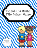 Beginning Sound File Folder Game