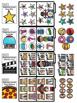 Beginning Sound File Folders (Matching pictures with the same beginning sounds)