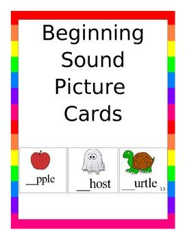 Beginning Sound Flashcards