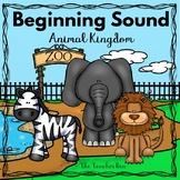 Special Education and Kindergarten- Beginning Sound Game-Animals