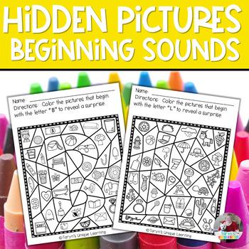 Beginning Sound Hidden Pictures