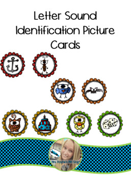 Letter Sound Identification Cards