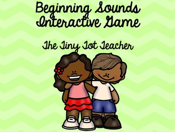 Beginning Sound Interactive Game