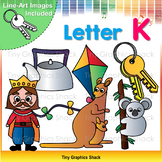 Beginning Sound K Clip Art