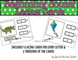 Beginning Sound Lacing Cards