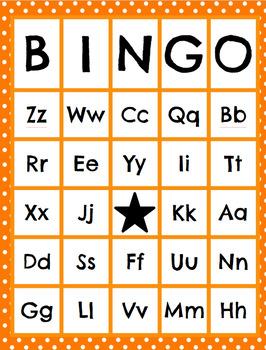 Beginning Sound/Letter Name/Sound BINGO