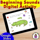 Beginning Sound/Letter/Phonics Practice for Kindergarten D