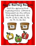 Beginning Sound Letter Sort-Apple Theme