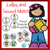 Beginning Sound Letter and Picture Match