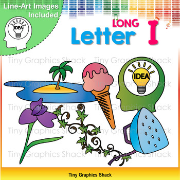 Beginning Sound Long I Clip Art
