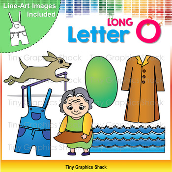 Beginning Sound Long O Clip Art