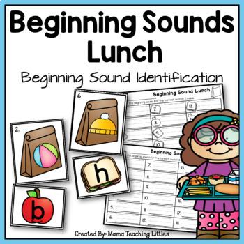 Beginning Sound Lunch - Beginning Sound Identification