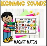 Beginning Sound Magnet Match