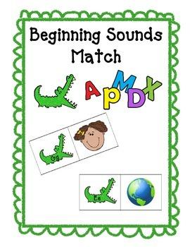 Beginning Sound Match