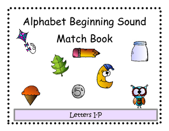 Beginning Sound Match Adapted Book 2