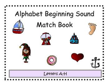 Beginning Sound Match Adapted Book